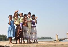 girls (greenelent) Tags: girls people india photoaday 365 orissa chilikalake odisha