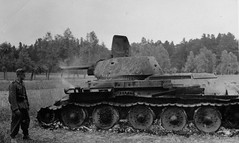 """Tank T-34 (95) • <a style=""""font-size:0.8em;"""" href=""""http://www.flickr.com/photos/81723459@N04/10322630316/"""" target=""""_blank"""">View on Flickr</a>"""