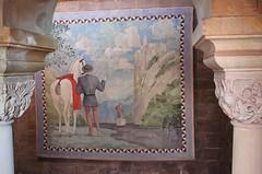 (:Linda:) Tags: germany thuringia town eisenach wartburg fortress painting man horse column sule pillar