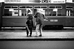 Are we on the right track? (gato-gato-gato) Tags: street schweiz strasse streetphotography olympus basel photowalk pointandshoot streetphoto autofocus streetphotographer mft baselstadt streetpic gatogatogato microfourthirds wwwgatogatogatoch streettogs thomasleuthard olympusomdem5 stadtbasel