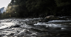 (matteofinezza) Tags: sunset italy sun motion river nikon italia fiume movimento abruzzo 3100 flickrandroidapp:filter=none