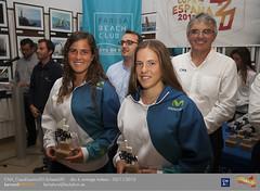 Nuria Miró y Silvia Mas, subcampeones femeninas absolutas Copa de España 420.