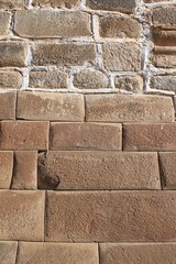 Inca wall, Spanish wall