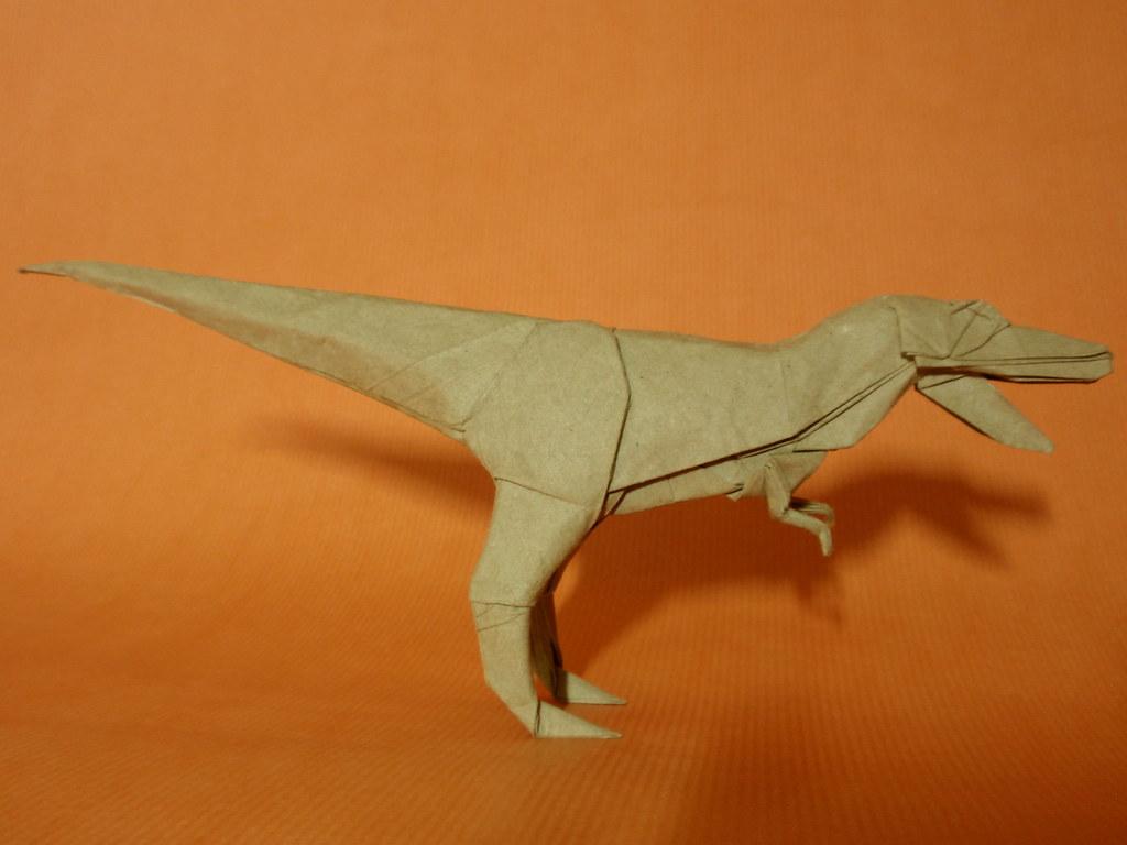 The Worlds Best Photos Of Dinosaur And Folding Flickr Hive Mind Origami Dinosaurs A List Online Origamidinosaur Diagrams Tyrannosaurus Satoshi Kamiya Gonzaorigami Tags Paper Modelo Fold