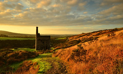 I AM WHEAL BETSY (russell D7000 (D80)) Tags: park blue autumn portrait england sky house west building history wool beauty grass clouds sunrise silver landscape tin country engine mining cotton devon national betsy sunlit picturesque lead dartmoor hawthorn zinc 1700 gorse wheal a386 hordon