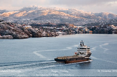 Olympic Commander (Aviation & Maritime) Tags: norway offshore olympic bergen supply psv platformsupplyvessel olympicshipping olympicoffshore olympiccommander