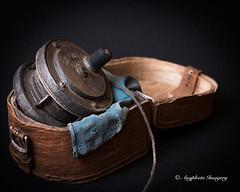 Fishing Reel (augphoto) Tags: stilllife tabletop knickknack keepsake fishingreel augphotoimagery