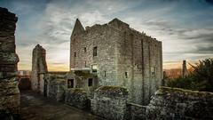 Craigmiller Castle (Tom Harper) Tags: sunset castle scotland edinburgh mary royal queen scots craigmiller