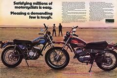 1975 AMF Harley sx250 -sx175 (Rickster G) Tags: two ads flyer 60s desert offroad tx 360 stroke literature harley trail 350 400 70s amf 100 dirtbike 370 sales brochure motocross 250 gp 175 twostroke enduro dealer motox 125 sx scrambler stroker twinshock regolarita