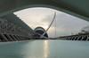 El Museu de les Ciències Príncipe Felipe, Assut de l'Or Bridge, L'Agora and L'Umbracle (chengkiang) Tags: valencia spain suspensionbridge lagora lumbracle cityofartsandsciences elmuseudelesciènciespríncipefelipe pontdelassutdelor puentedelassutdelor assutdelorbridge