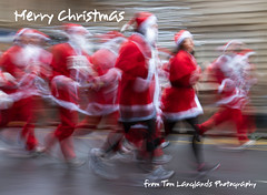 Merry Christmas (Tom Langlands Photography) Tags: santa christmas people race fun costume outfit dress glasgow run clothes dash festivities santasattire eventsandfestivals santadashglasgow