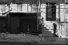 Snow Day (elbrozzie) Tags: nyc newyorkcity manhattan lowereastside rivingtonstreet
