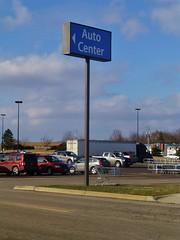 Walmart Alliance (Nicholas Eckhart) Tags: ohio usa sign retail america us walmart oh stores alliance megastore supercenter bigbox 2013 autocenter