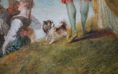 Watteau, Pilgrimage to Cythera (detail), 1717