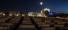 Memorial to the Murdered Jews of Europe at night (diwan) Tags: city nightphotography peopl