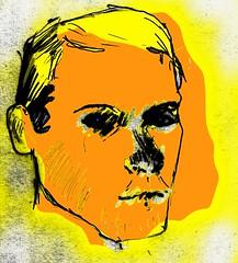 AFTER Hockney (Nick Dwyer) Tags: portrait art face mac head drawing outsider sketchbook primitive paintingdigitalart