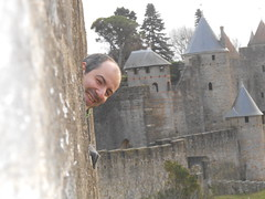 visite des remparts de la cité de Carcassonne