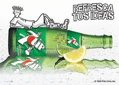 "Seven Up. ""Refresca tus ideas"". 2003"