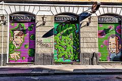 Graffiti (6) (Marco Trovò) Tags: italy graffiti italia milano case canon5d murales lombardia hdr palazzi biciclette zonatortona viasavona marcotrovò marcotrovo