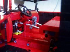 Lego Rat Rod (Thomas Graafland) Tags: hot lights rat doors lego suspension head rod v8 gearbox pneumatics turnerz