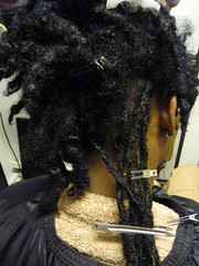 """Attaching the ready made locs • <a style=""""font-size:0.8em;"""" href=""""http://www.flickr.com/photos/106956187@N08/13284211253/"""" target=""""_blank"""">View on Flickr</a>"""