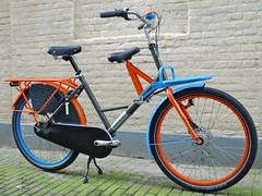 WorkCycles Fr8 Uni 7022-2004-5015 5 (@WorkCycles) Tags: blue orange dutch amsterdam bike bicycle brooklyn grey kid child transport special custom carrier racks fiets workbike fr8 stadsfiets transportfiets moederfiets workcycles papafiets