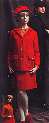 Pennys fw 66 red corduroy (jsbuttons) Tags: clothing 60s buttons womens 1966 66 catalog corduroy sixties pennys vintagefashion redskirtsuit
