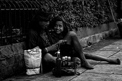 Like Father Like Son (rizkyabi09) Tags: family father son human people indonesia bogor downtown keluarga anak bapak bw blackandwhite humanity street streetphotography sony sonyalpha