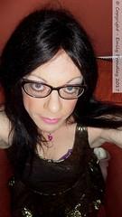 February 2017 (Girly Emily) Tags: crossdresser cd tv boytogirl mtf maletofemale tvchix tranny trans transvestite transsexual tgirl tgirls convincing dress feminine girly cute pretty sexy transgender xdresser gurl glasses indoor