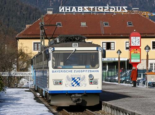 BZB Beh 4/8 11 Garmisch-Partenkirchen, Zugspitzbahnhof