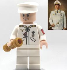 LEGO German Reichsmarschall Goering (dmikeyb) Tags: reichsmarschall lego wwii ww2 german marshal luftwaffe commander head chief goering goring hermann unique custom minifigure minifig