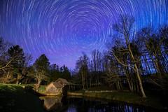 A Portal to Mabry Mill (sparkyloe) Tags: mabrymill blueridgeparkway blueridgemountains stars glow milky way light explore inexplore explored