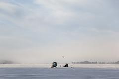 (Beathe) Tags: isfiskehytta img1156 oslofjord sandebukta ice fishing winter sun holm