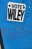 Vote Wiley, New Orleans, LA (Robby Virus) Tags: neworleans la louisiana nola bigeasy vote wiley sticker slap eggs tag graffiti