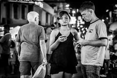 Bangkok 2016 (Johnragai-Moment Catcher) Tags: people photography street streetphotography nightstreet bangkokstreet bangkok blackwhite blackandwhite johnragai johnragaiphotos johnragaistreet johnragaibw omdem1 omdstreetphotography