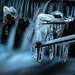 Frostig (Ulmi81) Tags: ulm neuulm iller river fluss wehr kalt eisig gefroren cold icy frozen ice eis zapfen metall langzeit belichtung bulb exposure water wasser flowing