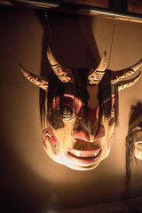 20170321_0029_1 (Bruce McPherson) Tags: brucemcphersonphotography masks brewhouse brewhouserestaurant mjgbrewhouse brewhousewhistler brewhousepub lowlight nightphotography coloredlights whistlerbynight whistler bc canada finedining casualdining