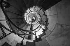 . (Elbmaedchen) Tags: staircase stairs treppenauge schwarzweis blackandwhite sw bw inside helix roundandround architektur architecture stufen berlin siegessäule