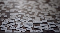 issues (killyourcar) Tags: magneticpoetry words text abuse mother beat power use fall black cry her mean ache hit lie ugly bitter crush mad scream leave me death repulsive manipulate dof shallowdepthoffield magneticwords