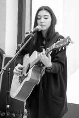 'MILA LEE' - 'MUSICPORT WHITBY' (tonyfletcher) Tags: musicport musicportwhitby openmic whitbypavilion whitby livemusic acousticmusic acoustic guitar milalee