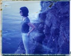 Nashville Bluffs (snacky.) Tags: polaroid instant film roidweek spring 2017 expired iduv nashville water cliff bluff