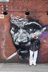 The Smoker (bluehousephoto.co.uk) Tags: manchester street photgraphy graffiti