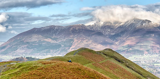 Skiddaw from Cat Bells...