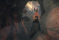 Change is in the air (Kilisini) Tags: fantasy faire mystical event evelineinthebox kibitz gosee seer blind arch storybrooke gardens secondlife sl portrait people truth hair vista catwa maitreya