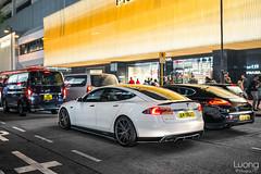 Modded Tesla (luongphoto) Tags: luongphoto luongphotography modified tesla slammed lowered porsche hongkong