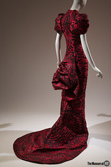 Alexander McQueen Dress (Museum at FIT) Tags: 2016631 alexandermcqueen dress themuesumatfit themuseumatfit forceofnature fit newyorkcity fashion