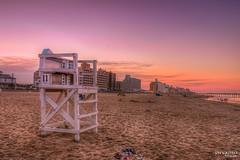 No Life Guard on Duty (JayCaps) Tags: virginiabeach virginia sunset boardwalk va beach vabeach goldenhour jaycaps jaycapilo jaycapilophotography pier landscape lifeguard