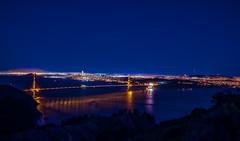 San Francisco at night (Vince Mako) Tags: sanfrancisco night bridge canon 5dmarkiv golden gate