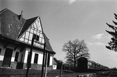 Sudweyhe Central Station (Alexander ✈︎ Bulmahn) Tags: train station sudweyhe village dorf adox chm 400 bahnhof kleinbahn museumsbahn xelriade