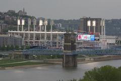 Home of the Cincinnati Reds (MLB) (ucumari photography) Tags: ucumariphotography cincinnati ohio april 2017 reds stadium dsc1261 baseball